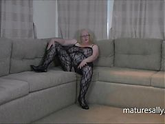 In and out of my bodystocking