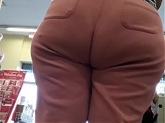 VPL on wide ass abuela tease part2.