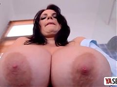 Bbw beauty tits masturbating solo