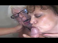 Granny and Mature Cumpilation #4