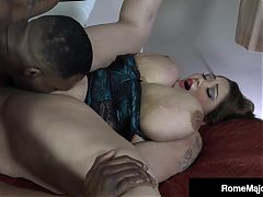 Phat Ass BBW Ling Ling Wrecked By Dark Dick Rome Major!