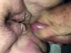 BBW fist and cock