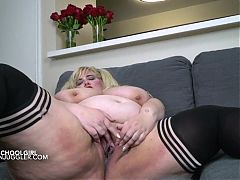 Young big tits SSBBW student who needs a constant fucking