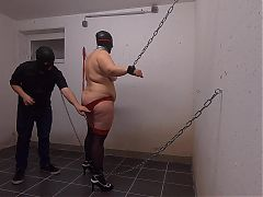 First Session with Sub T. - Part2 whipped her back