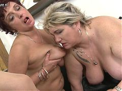 three mature sluts