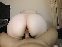 Pawg Reverse Cowgirl Anal