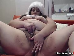 BBW lickable pussy for Christmas