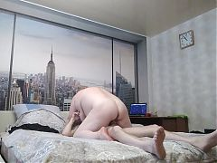 hard sex with a fat bitch in different poses